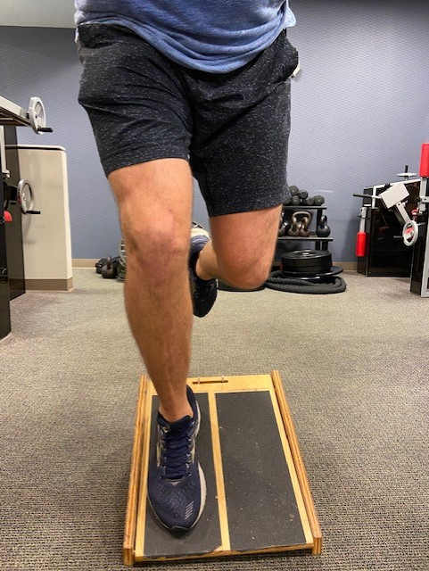 decline squat isometric hold jumpers knee