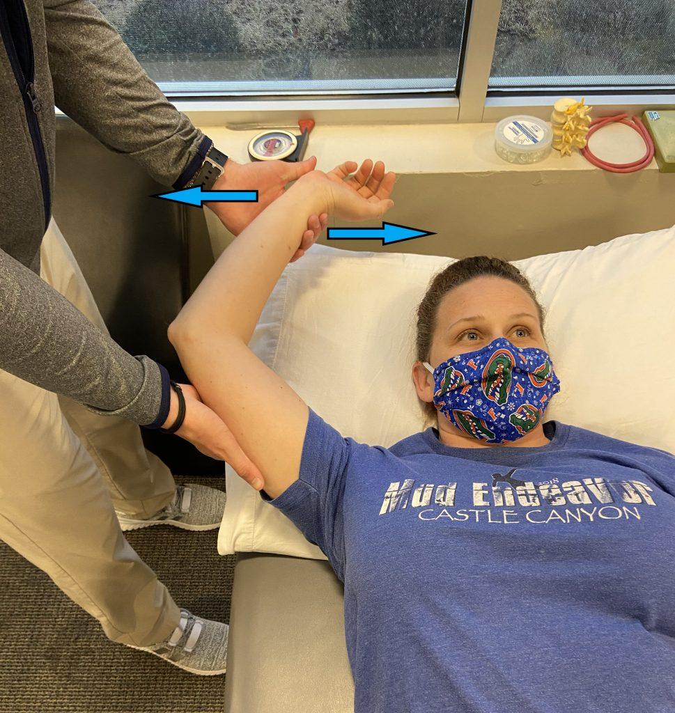 slap tear shoulder pain examination