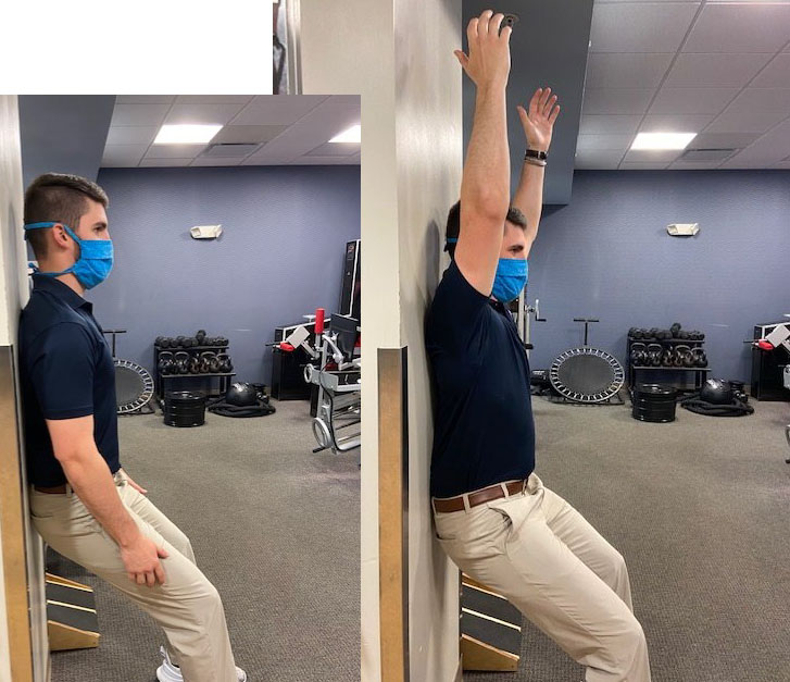 shoulder impingement wall scaption